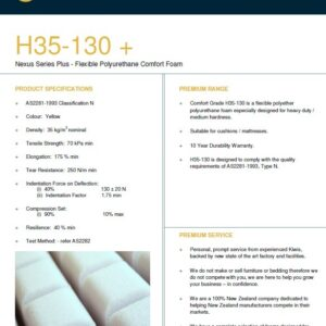 H35-130 (Bedding/luxury cushion foam)