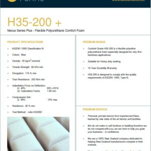 H35-200 (firm seating foam)
