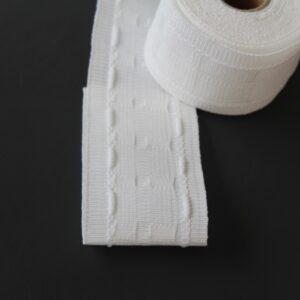 50mm 2 woven pocket premium curtain tape
