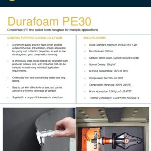 Polyethylene (PE) Foam